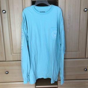Southern Shirt Company Long Sleeve Blue XL